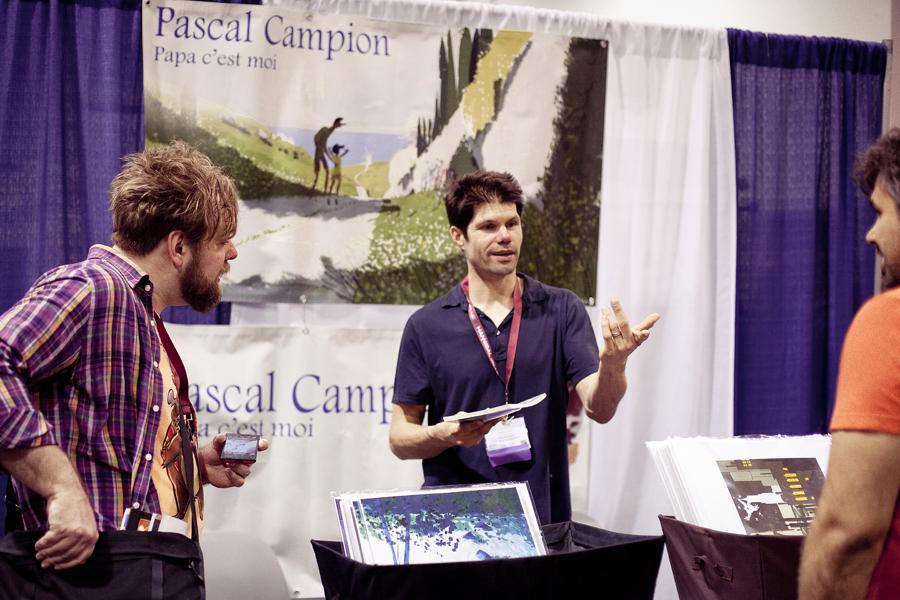 Pascal Campion at Wondercon 2013.