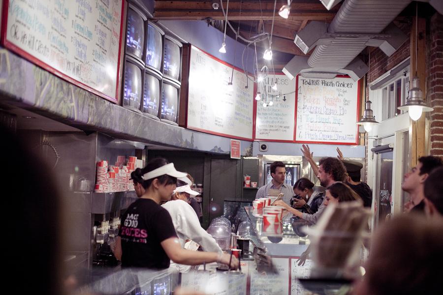 Interior of 21 Choices at Pasadena.