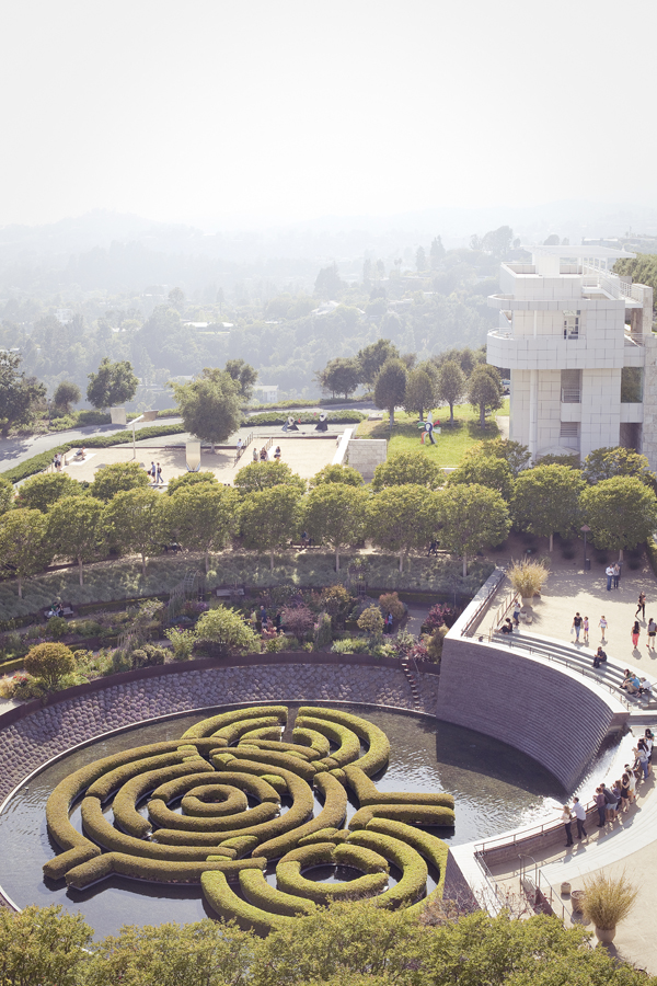 Getty Center in Los Angeles, California.
