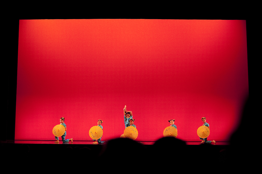 Chinese Dance Cultural Club performance at Royce Hall, UCLA.
