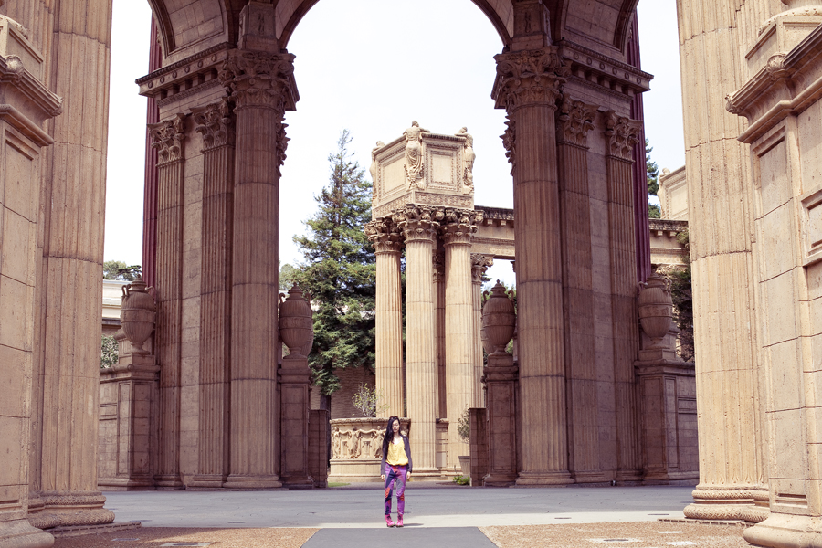 Palace of Fine Arts Theater in San Francisco, California.