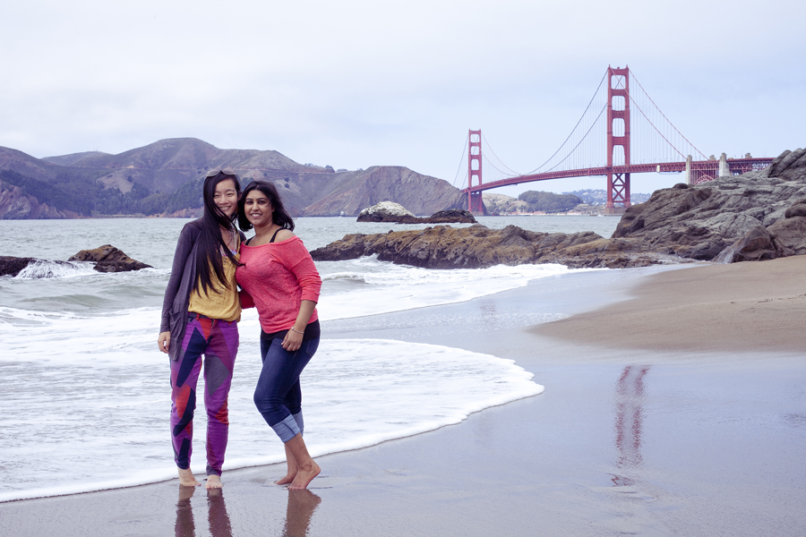 Baker Beach in San Francisco, California.