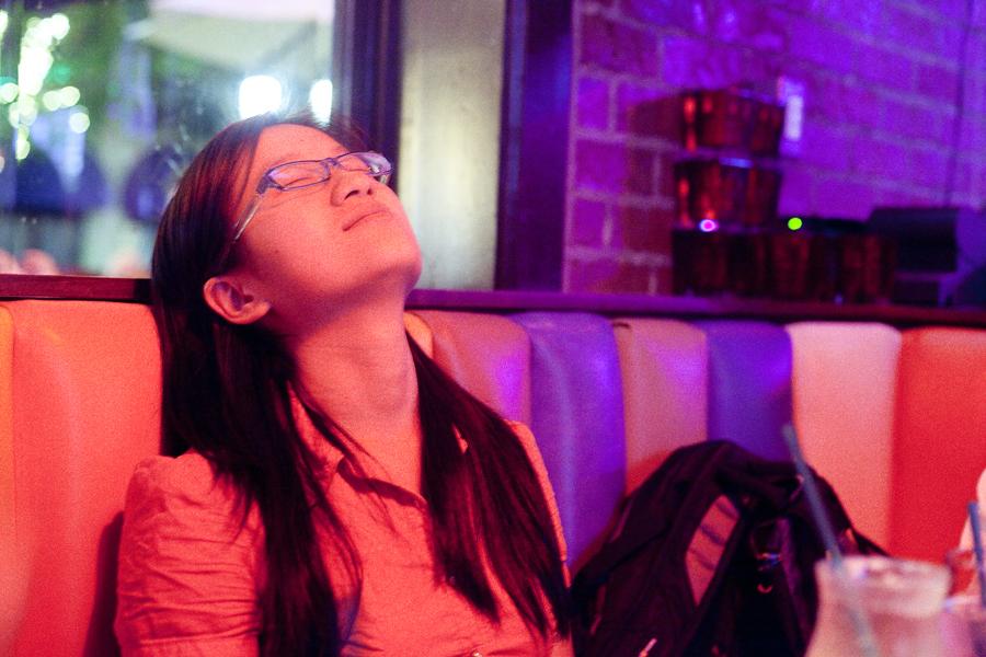 Drunk Zen at Barney's Beanery.