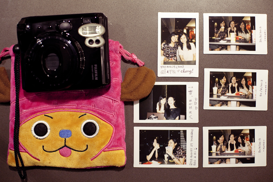 Instax photos with Shasha and Ruru.