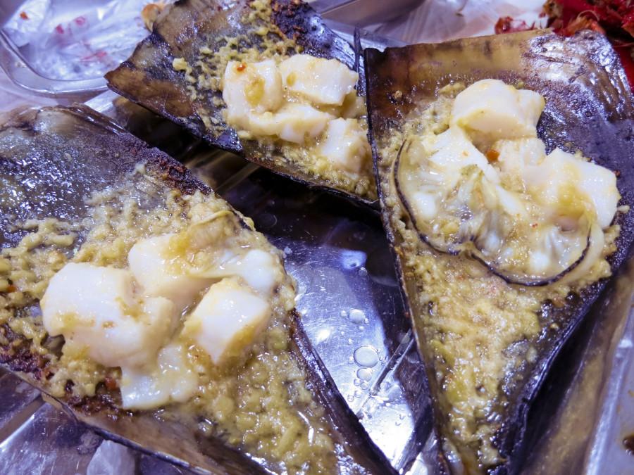 Seafood in Shanghai.