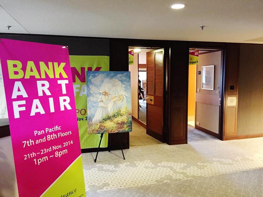 Bank Art Fair 2014 at Pan Pacific Hotel, Singapore. Photo by Ruru.