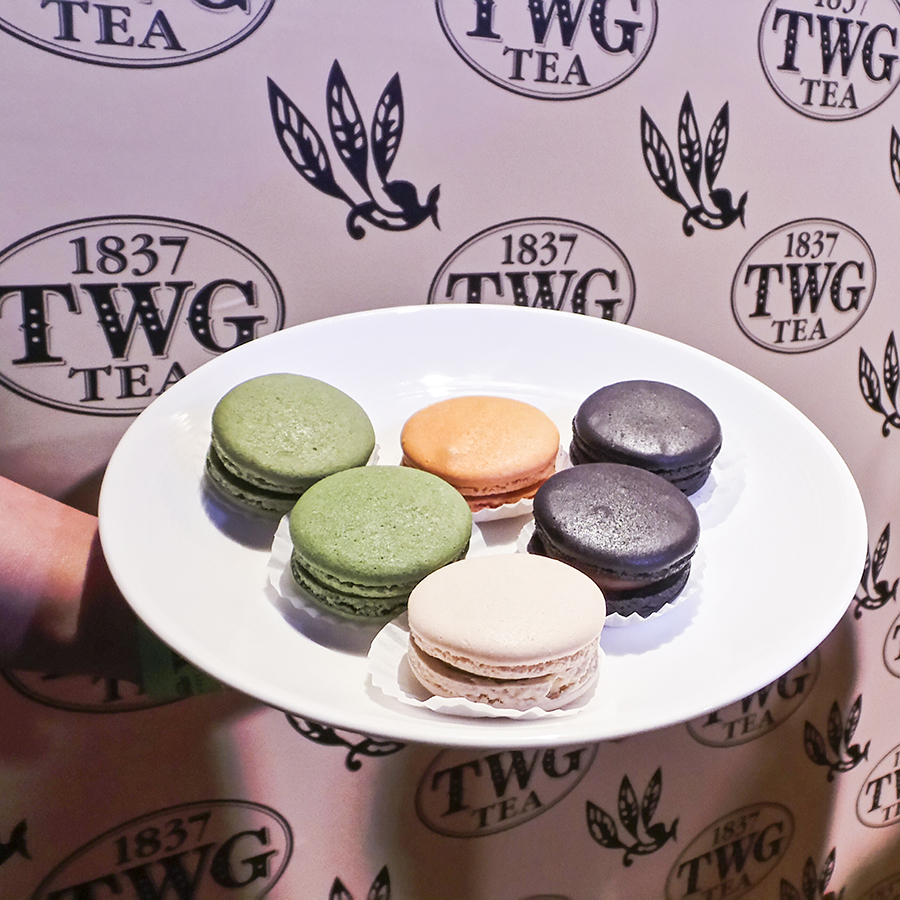 Macarons by TWG  at the Couturista Fashion Party at the Marina Bay Sands.