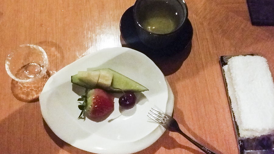 Fruits at Momoyama, Lotte Hotel, Myeongdong, Seoul, Korea.