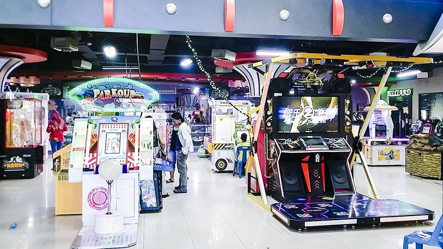 Arcade place at Nagoya Hill Shopping Center, Batam, Indonesia.
