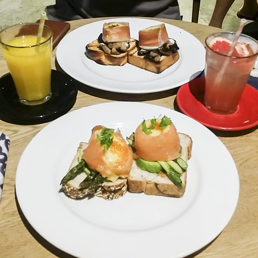 Norwegian Breakfast & European Breakfast at Wild Honey, Singapore.