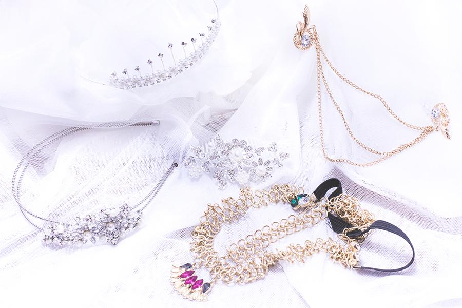 Irresistible Me Haul: Sophia Hair Chain, Aurora Tiara, Jade Hair Chain, Hera Hair Comb, Isis Headband.