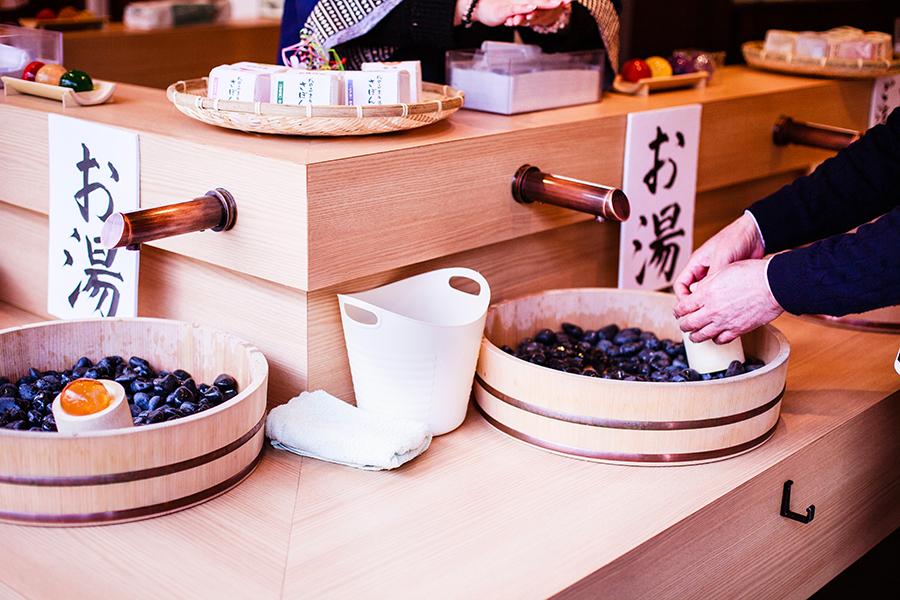 Handmade soap at Omotesando at Narita, Chiba, Japan