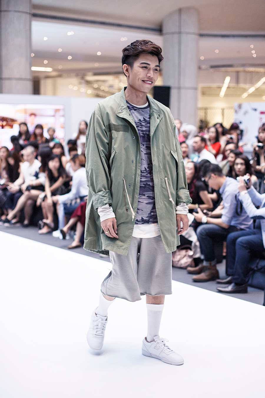 Catwalk at Clozette Style Party 2016 in Suntec City. #ClozetteStyleParty