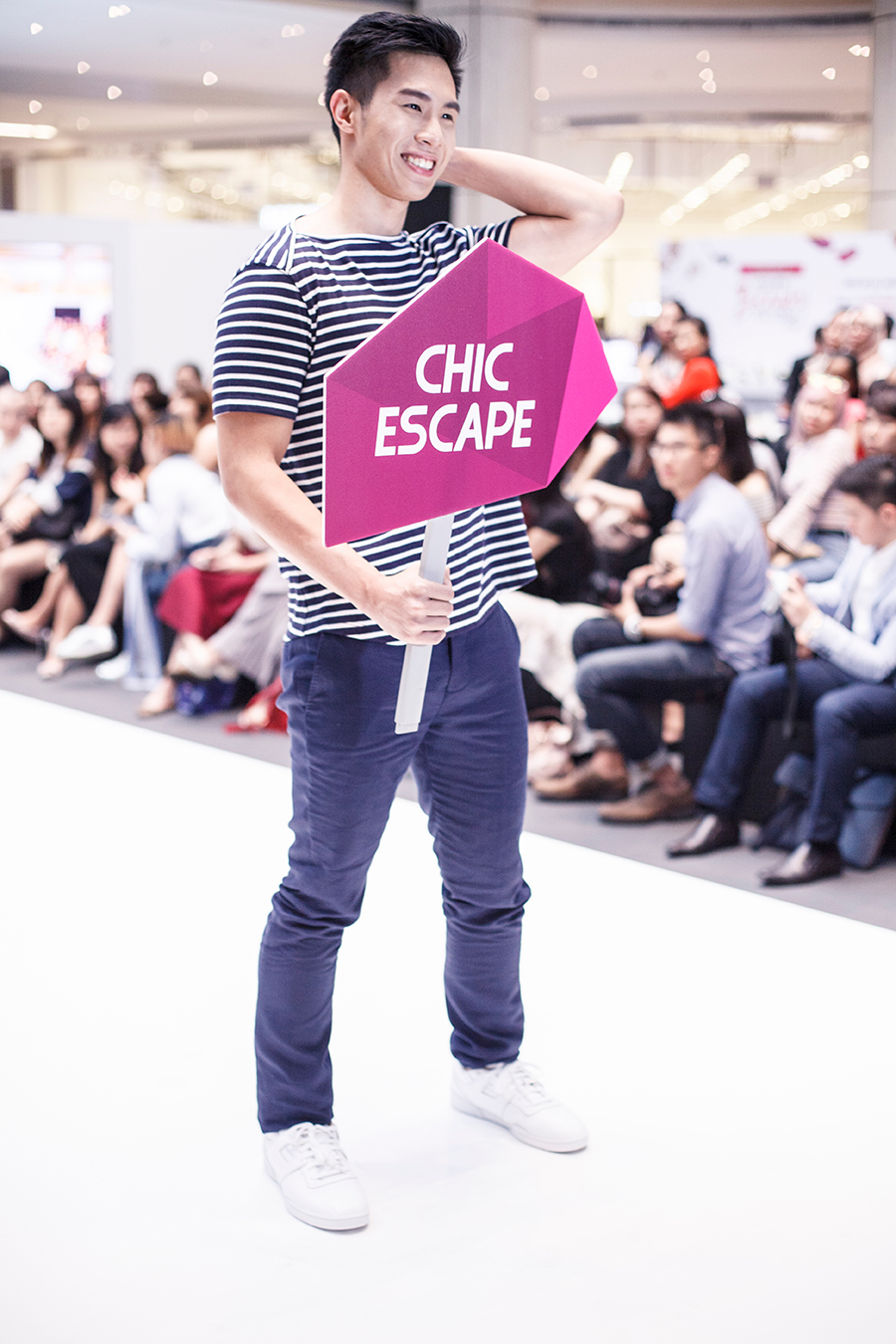 Chic Escape Catwalk at Clozette Style Party 2016 in Suntec City. #ClozetteStyleParty