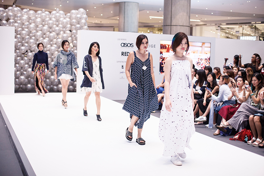 Chic Escape Catwalk at Clozette Style Party 2016 in Suntec City. #ClozetteStyleParty