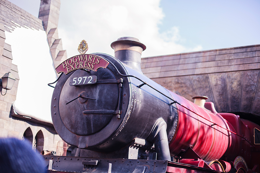 Hogswart Express at The Wizarding World of Harry Potter at Universal Studios Japan, Osaka.