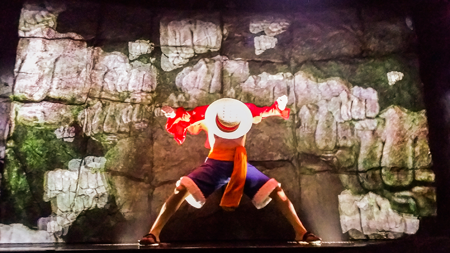 One Piece Live Attraction Show at One Piece Tower, Tokyo Tower Japan.
