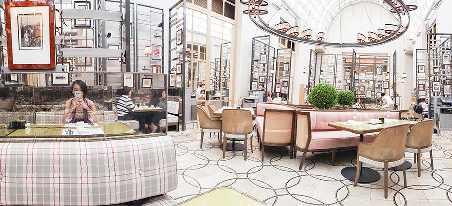 Ritz Carlton Colony High Tea.