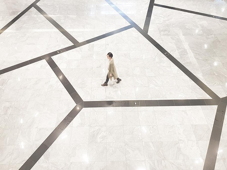 Getting lost in flooring.