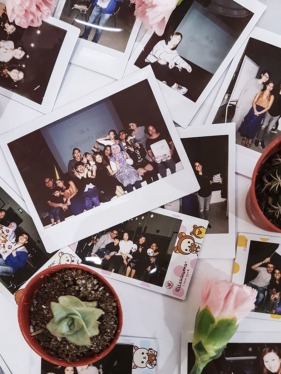 Instax photos at Merparty 2016.