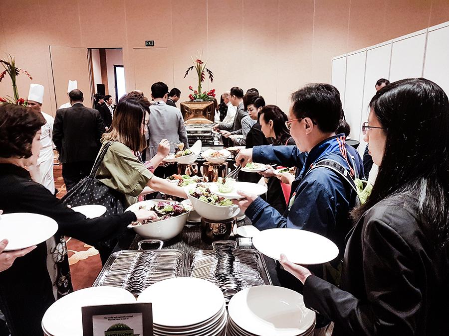 Lunch at FUZE2017 at Marina Bay Sands.