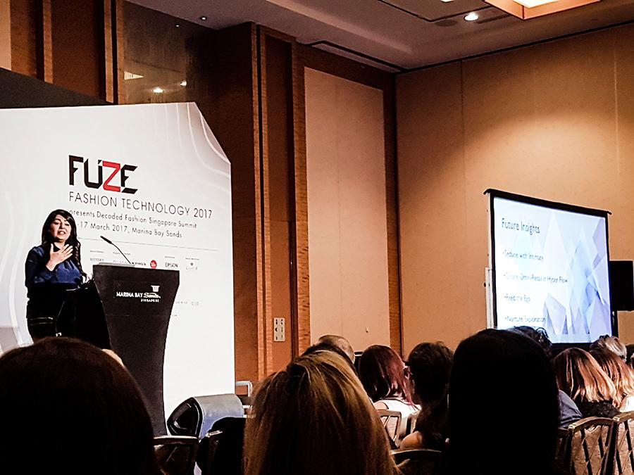 Saisangeeth Daswani from Stylus Media Group at FUZE2017 at Marina Bay Sands.