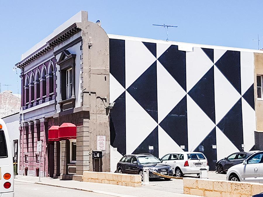Interesting buildings in Fremantle Perth Australia.