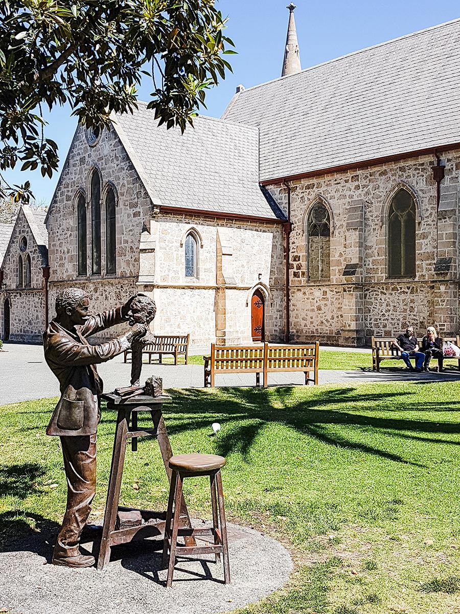 St John's Anglican Church in Fremantle Perth Australia.