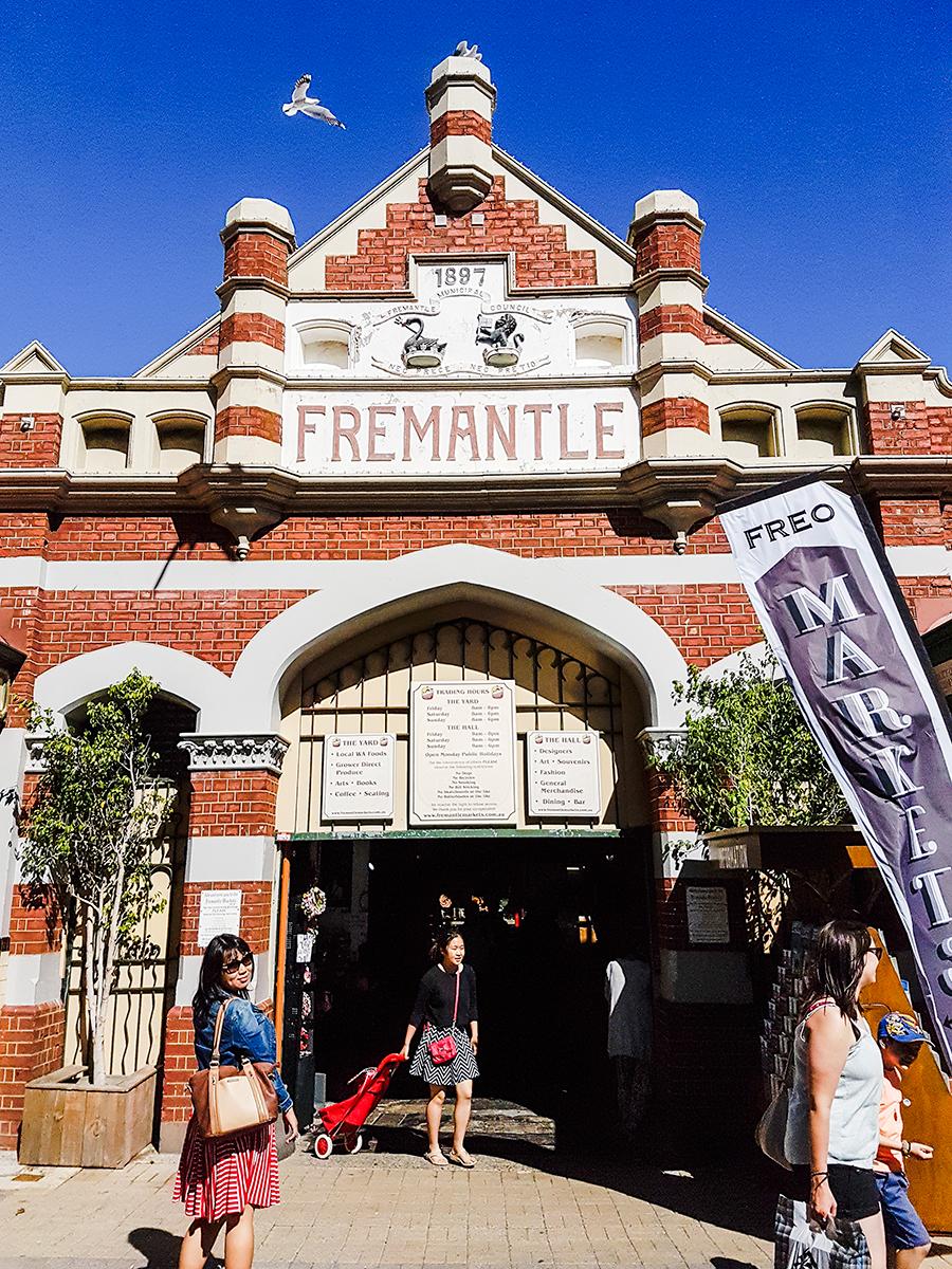 Fremantle building in Perth, Australia.