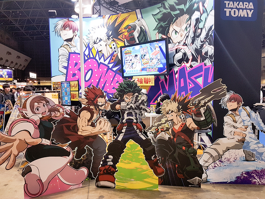 Boku no Hero Academia at Anime Japan Expo 2017, Big Sight Tokyo.