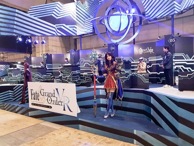 Fate Grand Order at Anime Japan Expo 2017, Big Sight Tokyo.