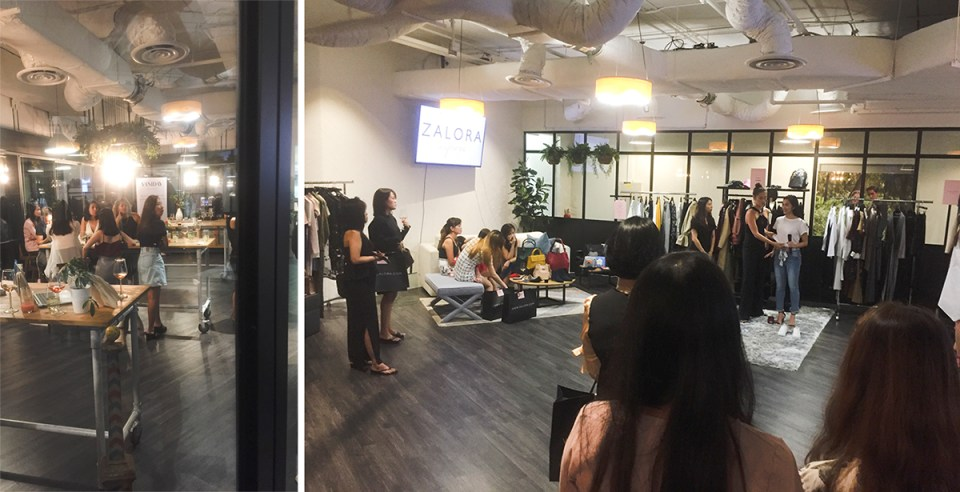 The space at Zalora Inspires event.