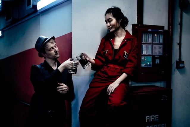 The Expanse cosplay Julie Mao & Joe Miller (#TheExpanseCosplayWeek)