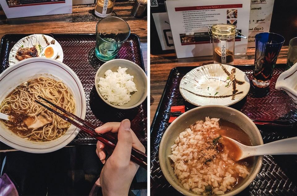 Shinjuku Gyoen Ramen Ouka 新宿御苑ラーメン桜花.
