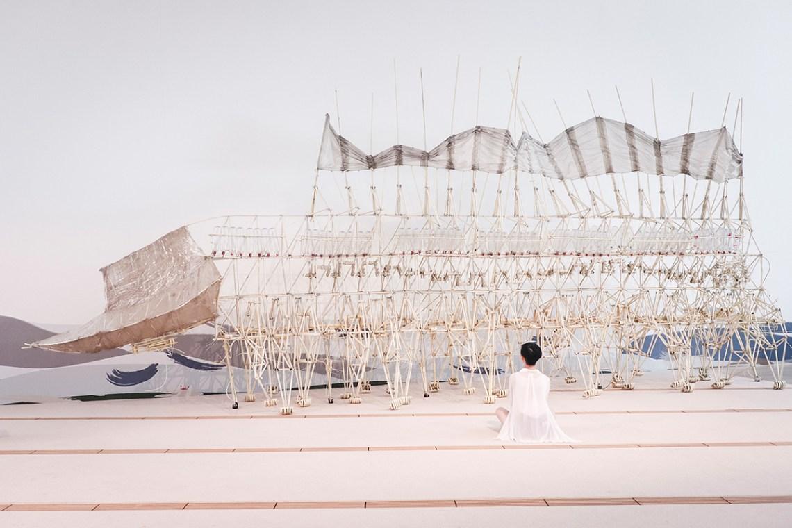 Wind Walkers: Theo Jansen's Strandbeests at the ArtScience Museum, Singapore.