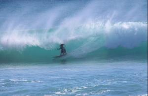 Julie Surfing 1