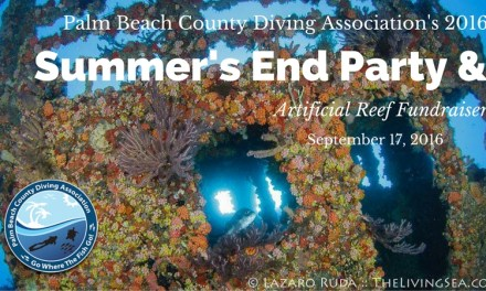 2016 PBCDA Summer's End Party & Artificial Reef Fundraiser