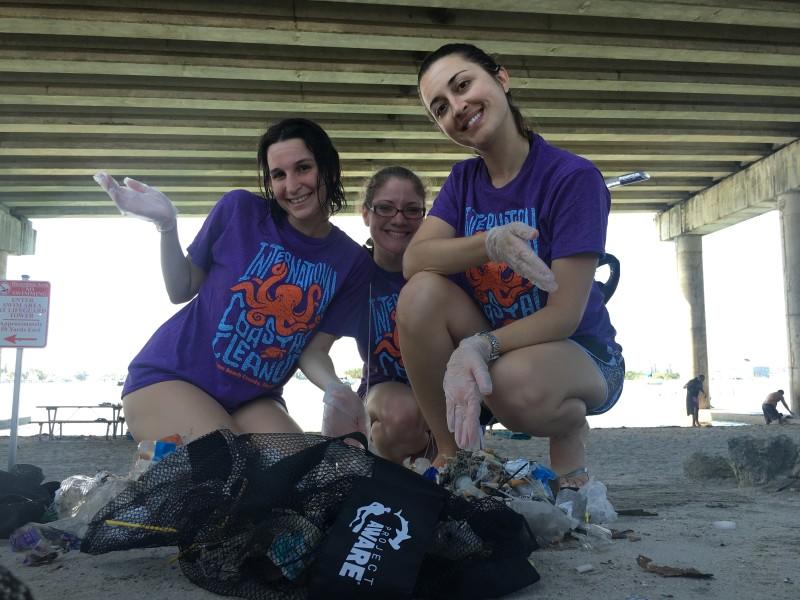 Blue Heron Bridge Cleanup: December 17