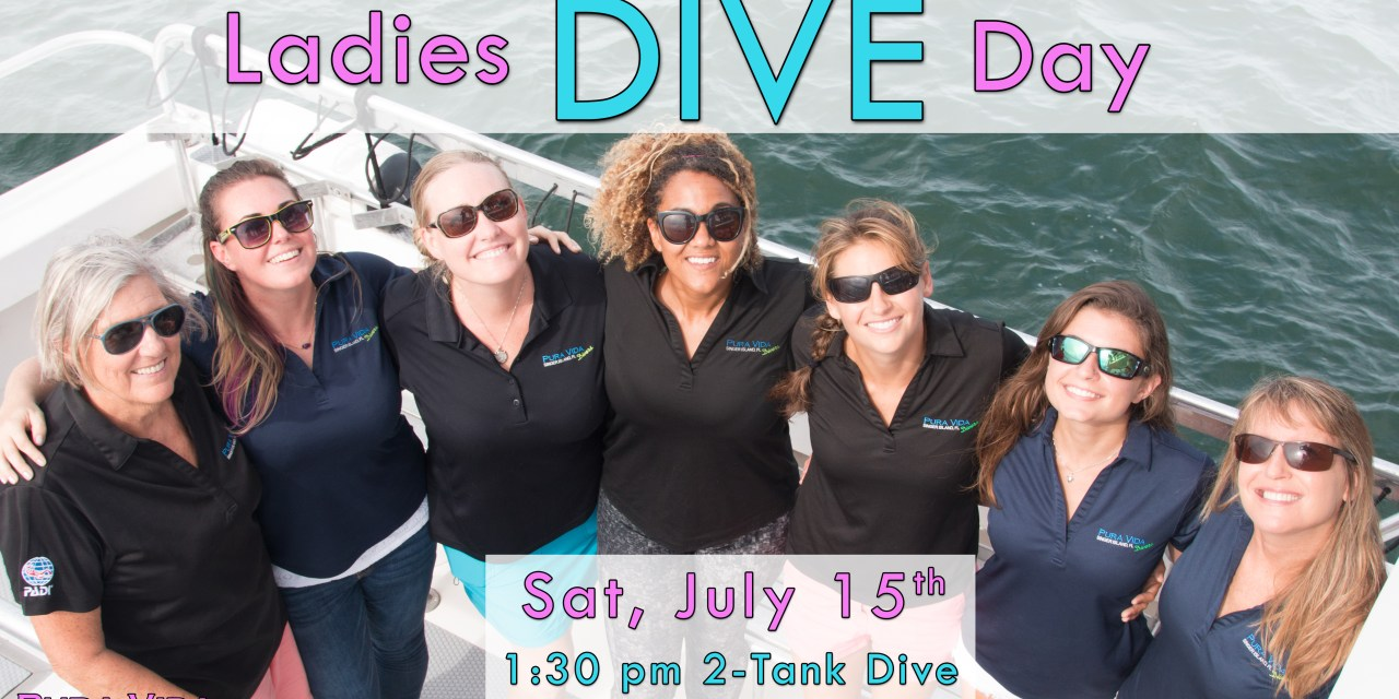 JULY 15: LADIES DIVE DAY