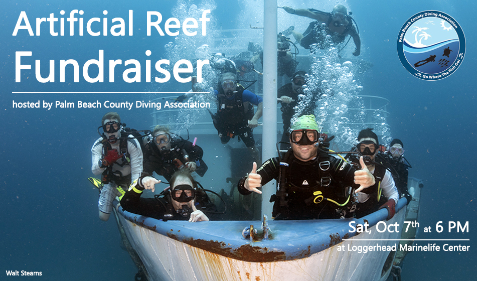 JOIN US: ARTIFICIAL REEF FUNDRAISER & PARTY
