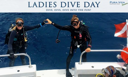 CELEBRATE LADIES DIVE DAY UNDERWATER!