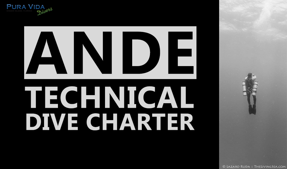SEPT 14: ANDE TECHNICAL DIVE CHARTER