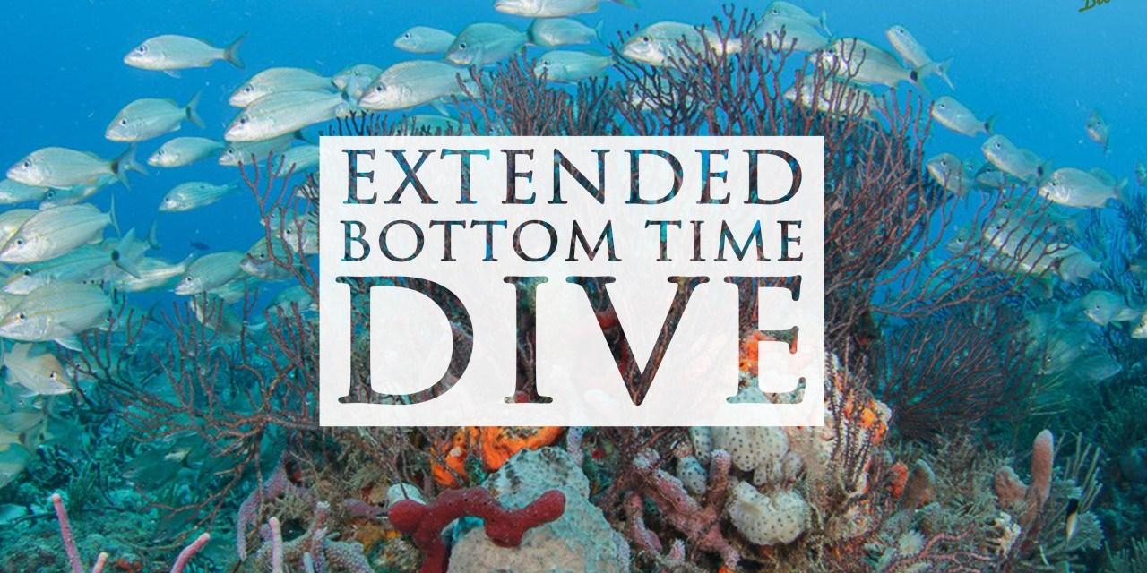 JAN 13: EXTENDED BOTTOM TIME DIVE