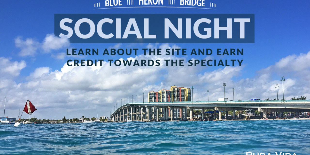 MARCH SOCIAL NIGHT: BLUE HERON BRIDGE