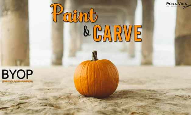 Pumpkin Paint and Carve