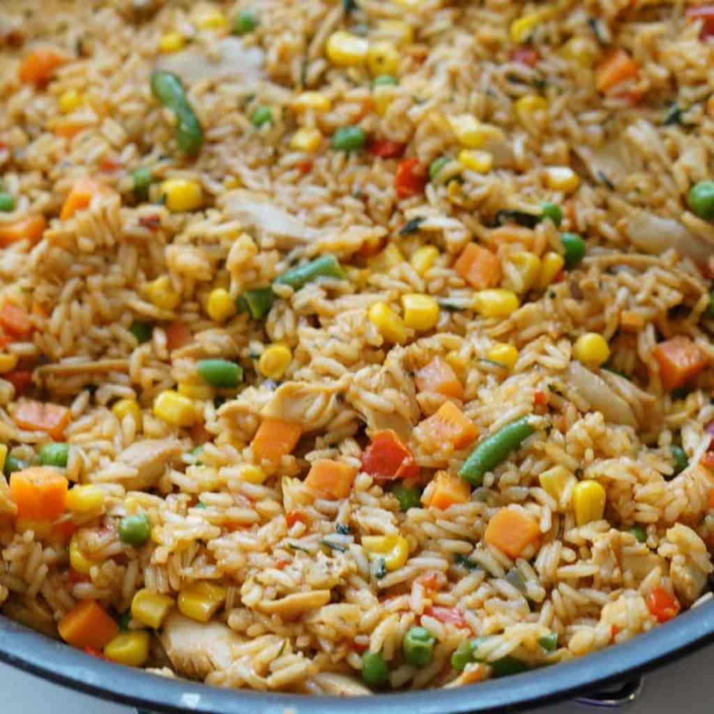 costa rican arroz con pollo