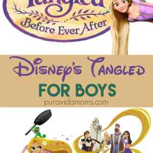 Disney's Tangled: Before Ever After – For Boys