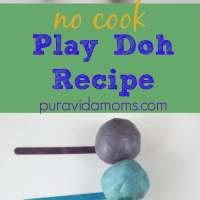 Uncooked Play Dough Recipe