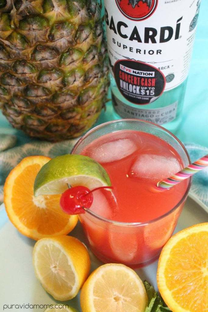 delicious rum punch recipe for summer