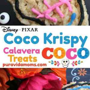 Disney Pixar's Coco Krispy Treats Recipe